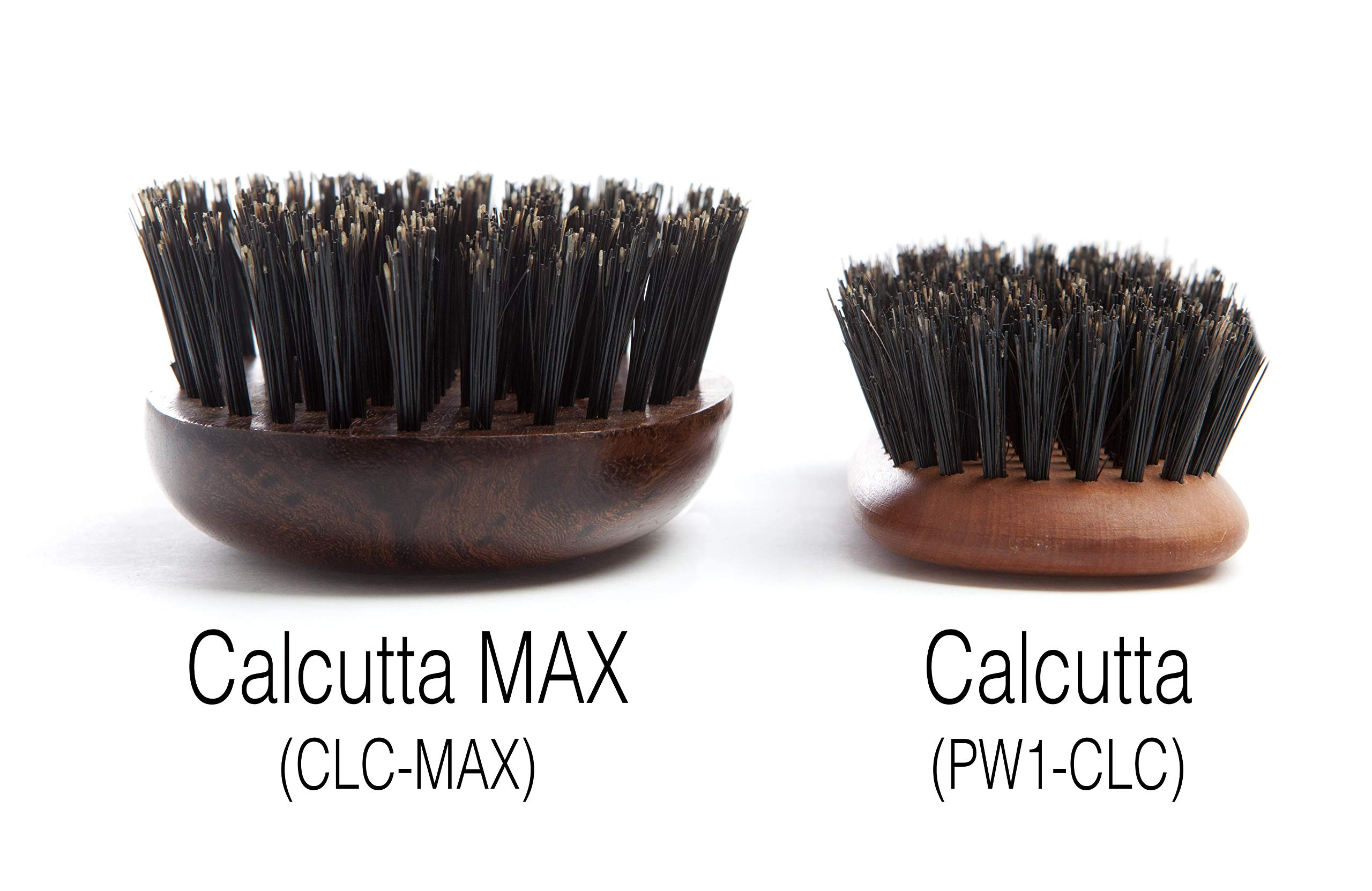 100% Pure Wild Boar Bristle Hair Brush, Calcutta Max for Thick or Long Hair, Gentle, Extra Stiff Natural Bristles, Hand Finished Indian Rosewood Handle, Tufted in USA, by Desert Breeze Distributing by Desert Breeze Distributing (Image #5)