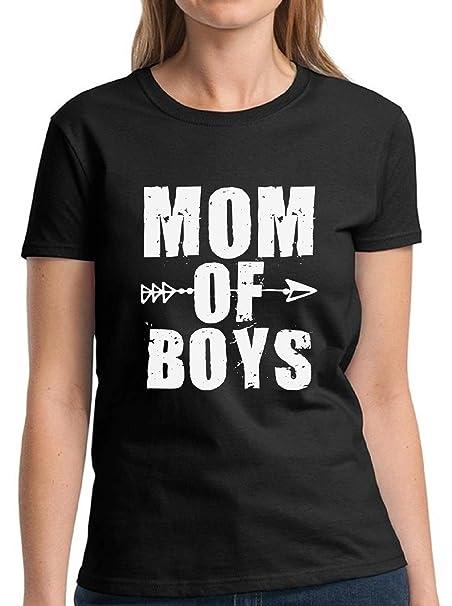 Amazon.com: Vizor mamá de niños playera camisa de día de la ...