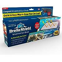 Ontel Brella Shield Car Windshield Sun Shade, large