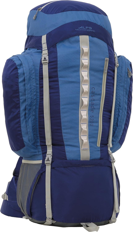 ALPS Mountaineering Cascade 5200 Internal Frame Pack, Blue