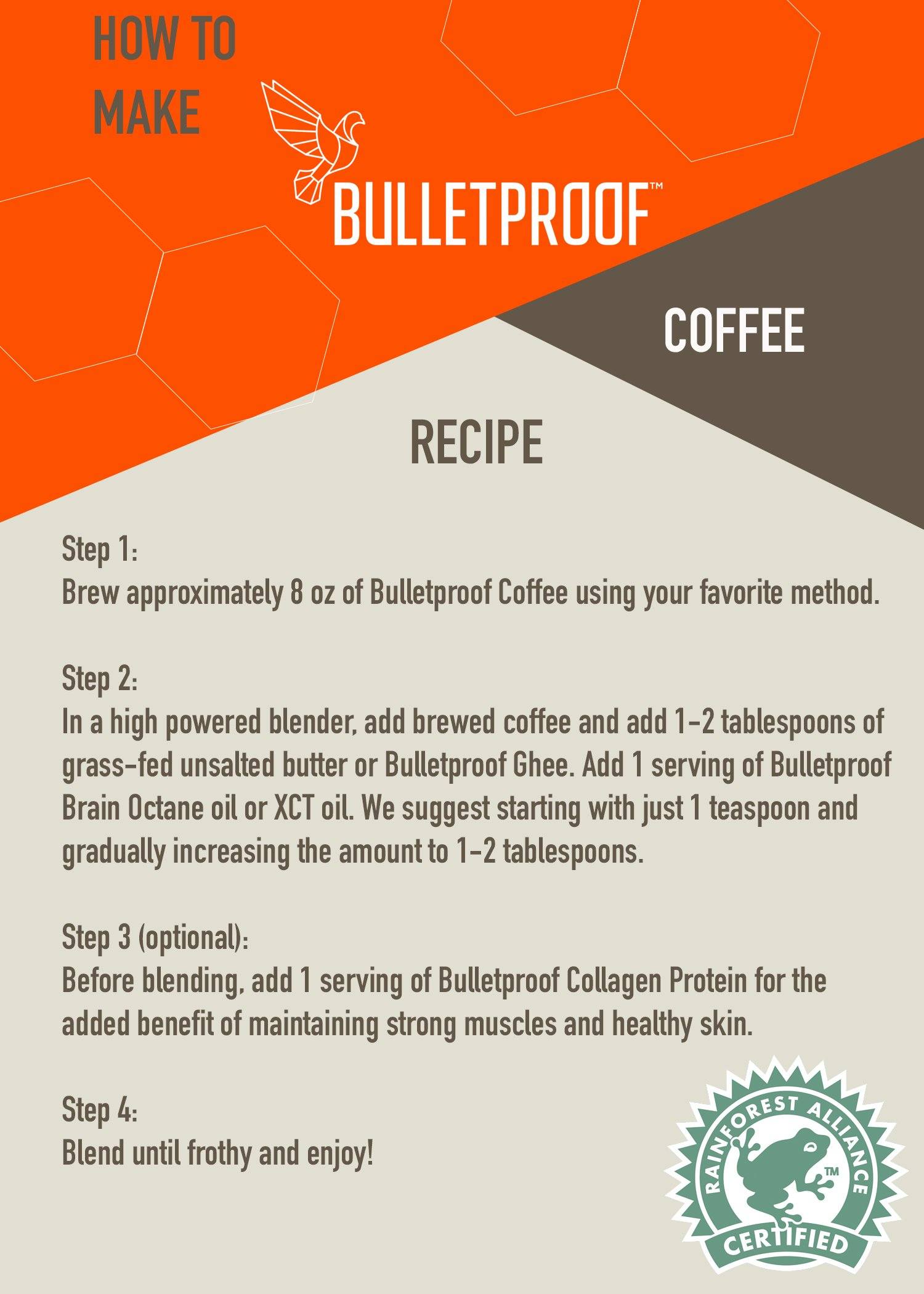 Bulletproof The Original Ground Coffee, Upgraded Coffee Upgrades Your Day (12 Ounces) by Bulletproof (Image #3)