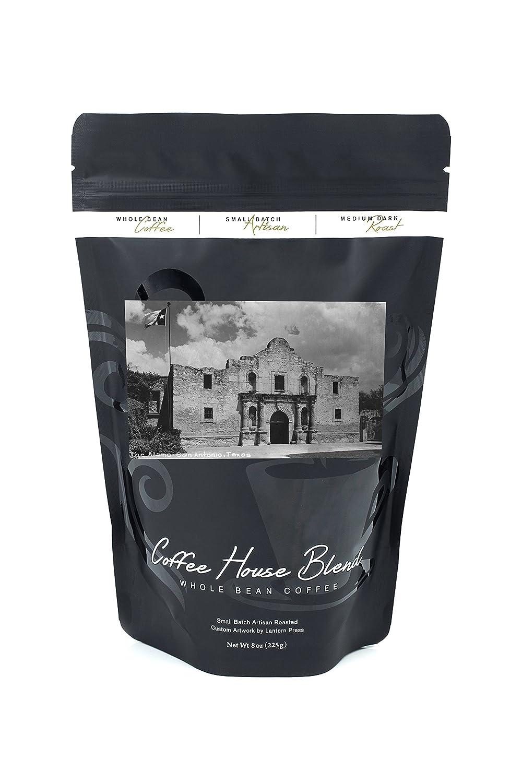 San Antonio、テキサス – アラモ写真 B074RZSNWZ 8oz Coffee Bag8oz Coffee Bag