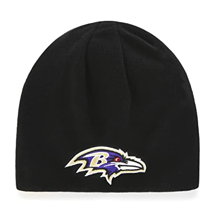 14726148e5cee Amazon.com   NFL Baltimore Ravens Adult NFL Trenton Ots Beanie Knit ...