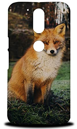 Amazon.com: Fox 9 Hard Phone Case Cover for Motorola Moto G4 ...