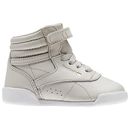 Reebok Freestyle Hi Muted, Zapatillas Unisex Bebé, Blanco (Sandstone/White 000), 21.5 EU