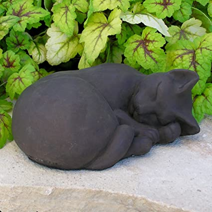 Amazon.com : CAT STATUE SLEEPING 11\