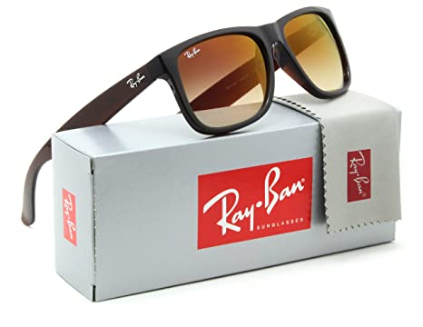 ae7a779cbcc Image Unavailable. Image not available for. Color  Ray-Ban RB4165 Justin  Flash Gradient ...