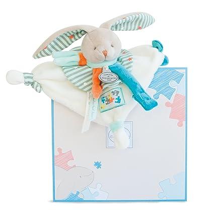 Doudou et Compagnie dc2984 Conejos Happy - Manta Chupete ...