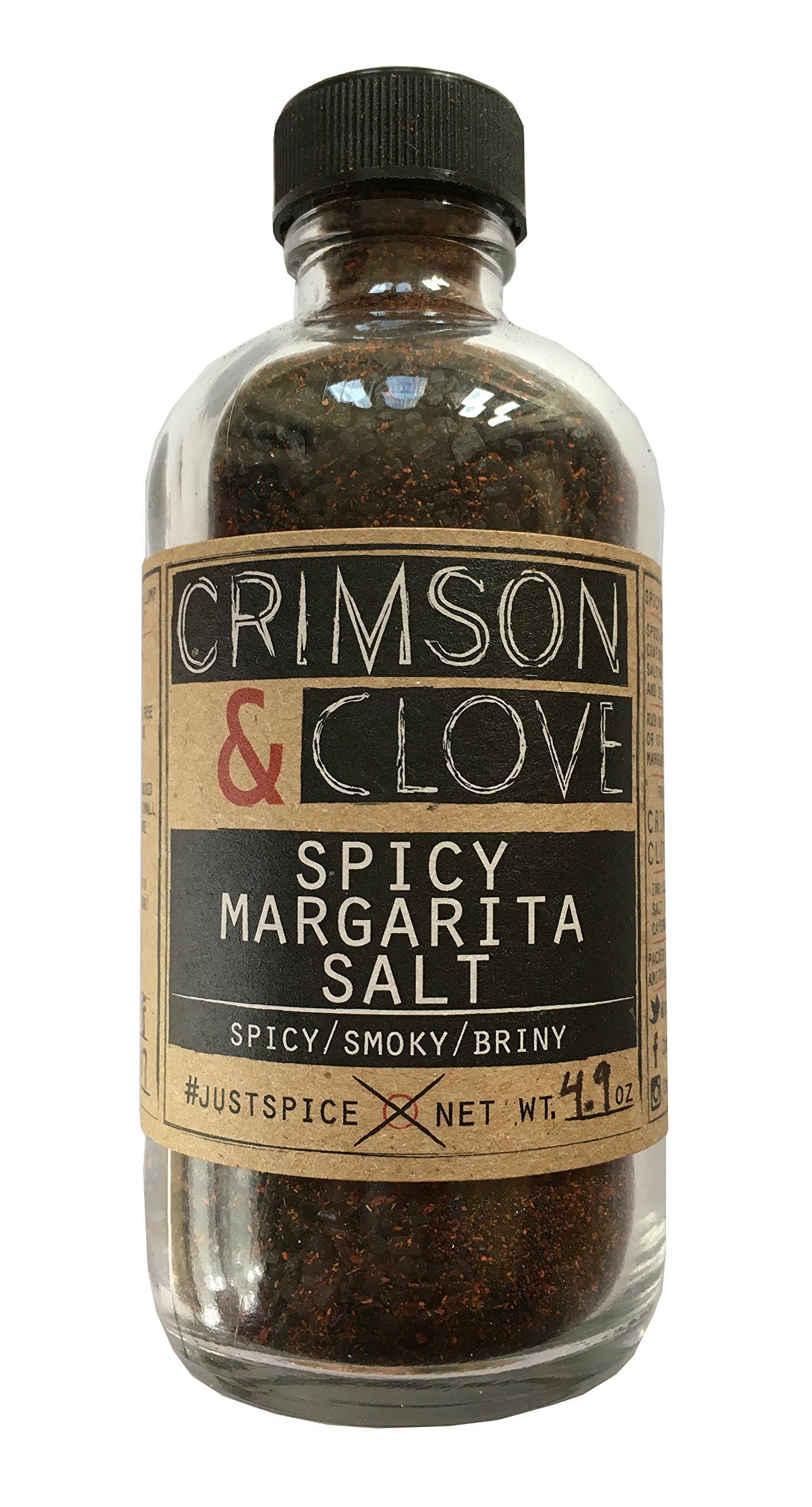 Spicy Margarita Cocktail Rimming Salt by Crimson and Clove (4.9 oz.) by Crimson and Clove (Image #1)