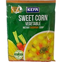 Keya Instant Everyday Soup - Sweet Corn Vegetable, 12g Pouch