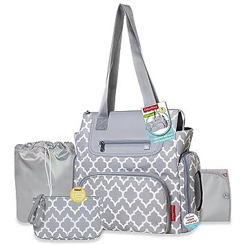 0d4ba04bfd84 Amazon.com   Fisher-Price 5 in 1 Lattice Diaper Bag   Baby