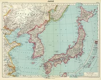 Amazon world atlas 1935 japan historic antique vintage map world atlas 1935 japan historic antique vintage map reprint gumiabroncs Choice Image