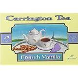 Carrington Tea, French Vanilla, 20 Tea Bags (Pack of 6)