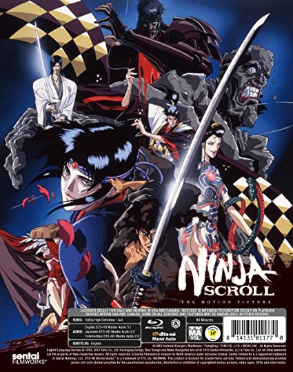 Ninja Scroll Edizione: Stati Uniti Italia Blu-ray: Amazon.es ...