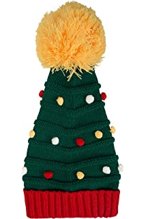 b745faa57 Christmas Knitted Pudding Hat, Brown, One Size: Amazon.co.uk: Clothing
