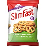 SlimFast Sour Cream Pretzel Snack Bag 23g - Pack of 12