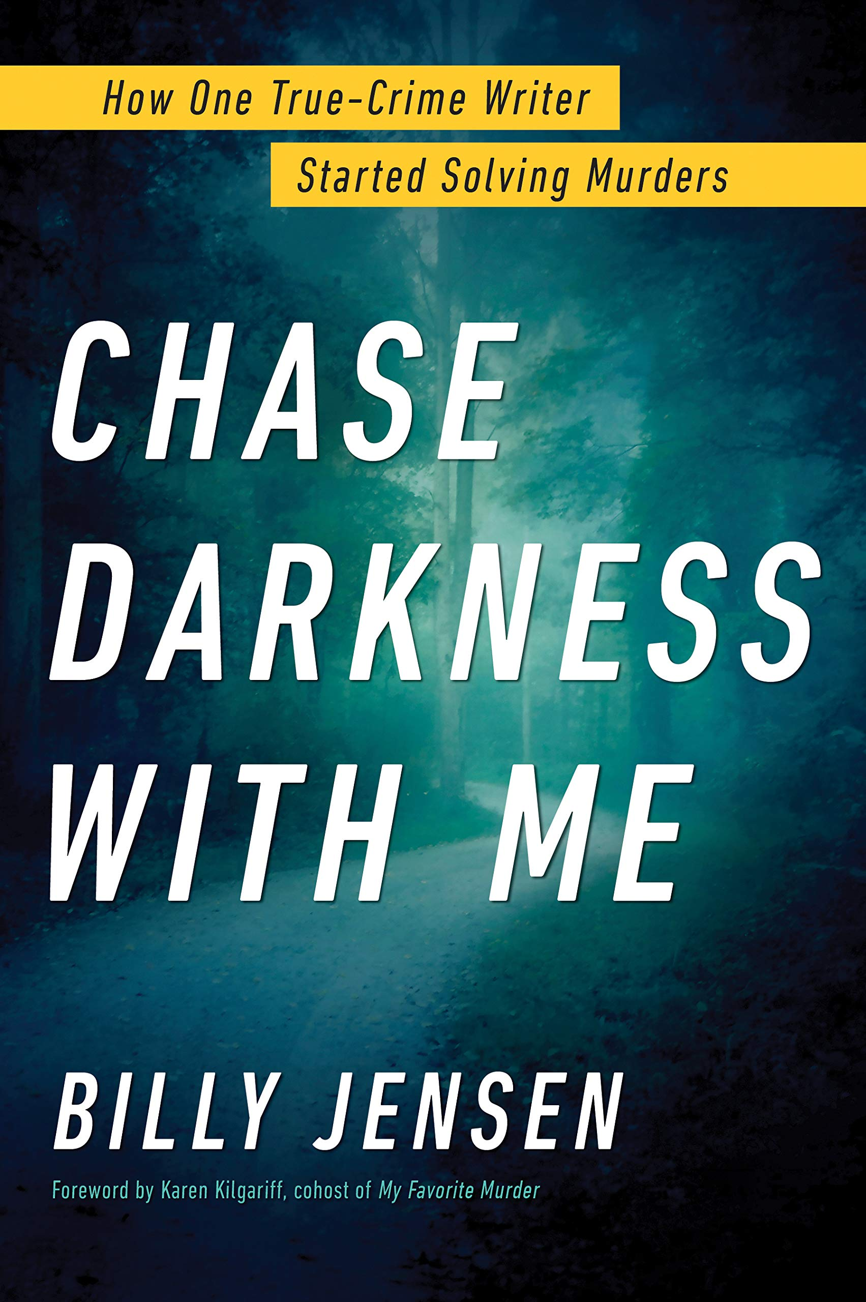 Chase Darkness with Me: How One True-Crime Writer Started Solving Murders by Sourcebooks