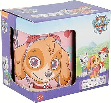 Paw Patrol La Patrulla Canina Taza promo ceramica 11 oz en estuche (Stor 40705): Amazon.es: Juguetes y juegos