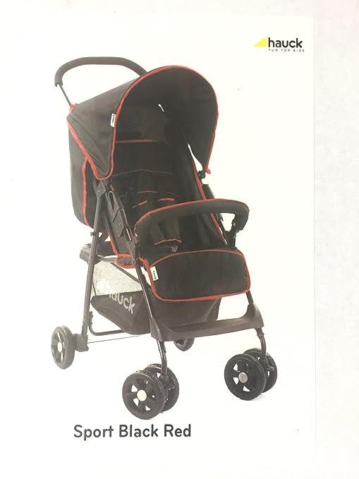 Hauck Sport carrito plegable con suspensión y cesta de la compra ...
