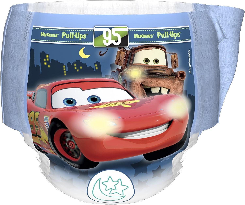 tama/ño grande 10 pantalones en total Pantalones de entrenamiento para ni/ños Huggies Pull Ups Night Time