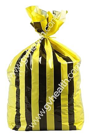 Raya de tigre polietileno Ofensivo bolsas de basura - Medium ...