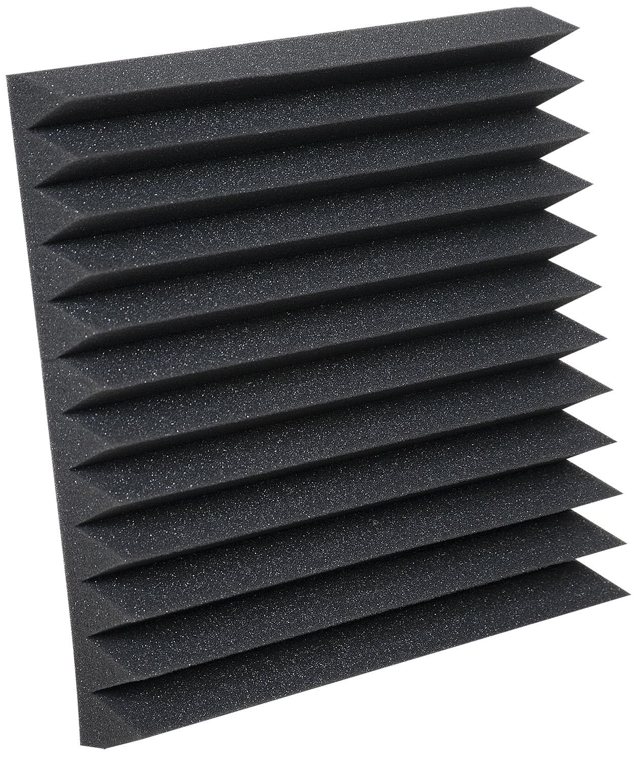 Auralex Studiofoam Wedgies 2 Inches Thick and 1 foot by 1 Foot Acoustic Absorption Foam, Charcoal, 24-count Auralex Acoustics WEDGIE-24