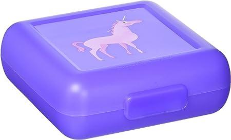 Crocodile Creek Girls Eco Reusable Unicorn Sandwich Keeper, Purple