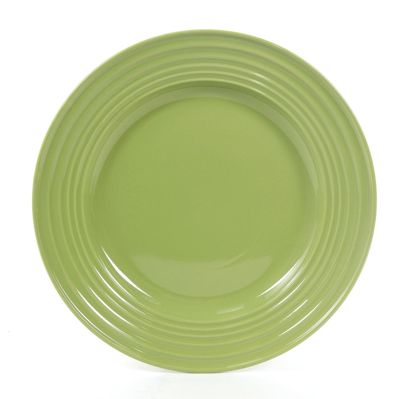 Amazon.com: Gibson Home 12 Piece Plaza Cafe Round Dinnerware Set ...