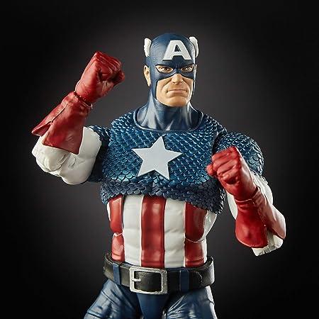 Marvel Legends - 80 aniversario Capitán America (Alex Ross ...
