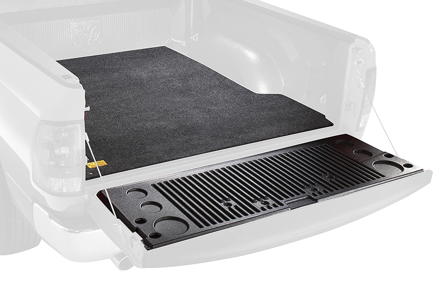 BedRug Bed Mat BMB15CCD fits 15+ COLORADO/CANYON 5' BED for trucks with a drop-in style bedliner