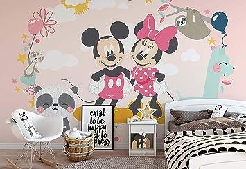 Disney Minnie Mouse Vlies Fototapete Fotomural - Wandbild - Tapete ...