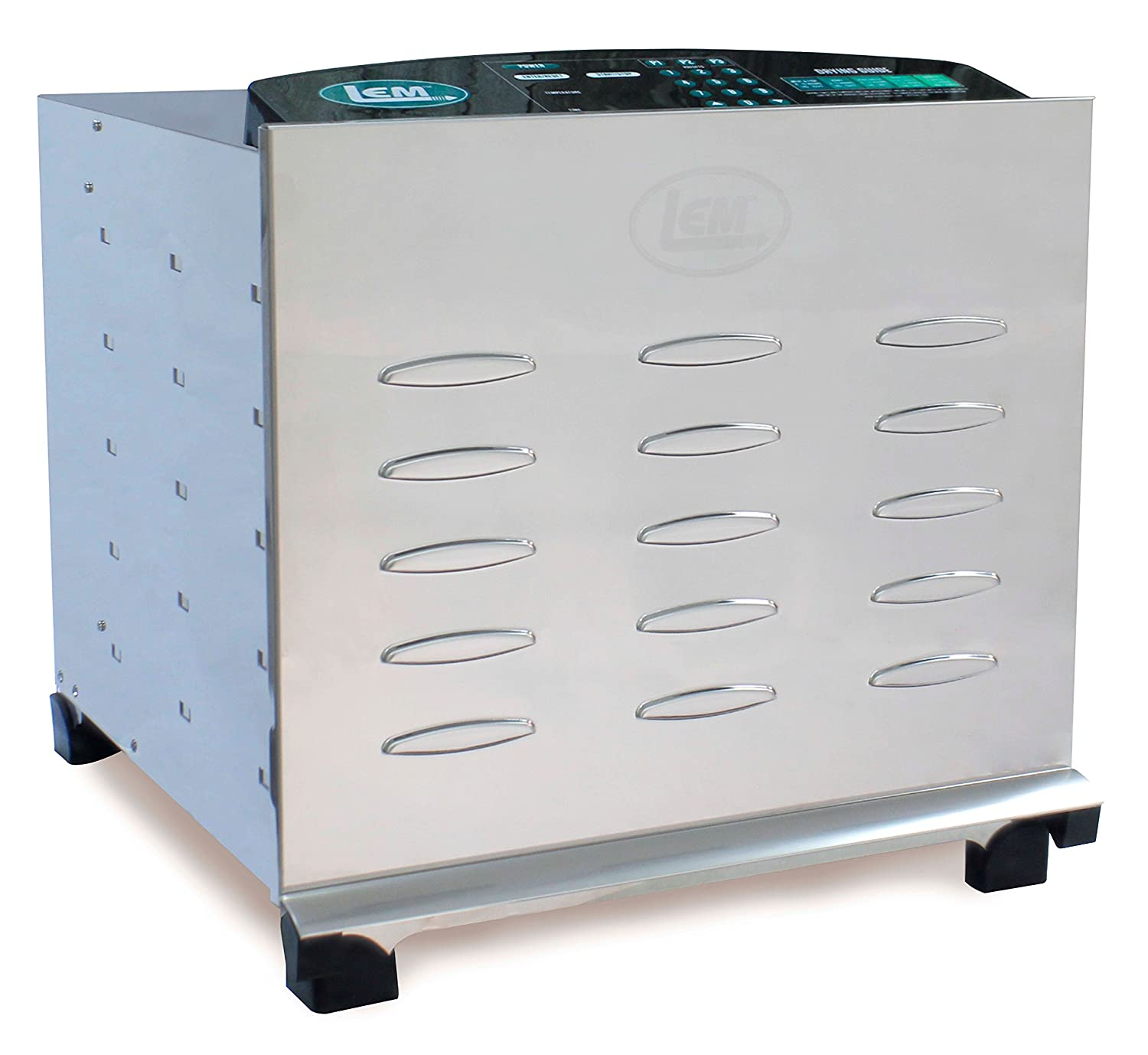 LEM Products 1154 Stainless Steel Professional 10-Tray Digital Dehydrator