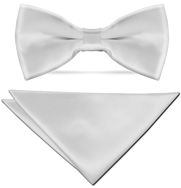 CRIXUS schmale Krawatte Dunkel Braun Edel Satin Tuch 26x26 cm Anzug Smoking