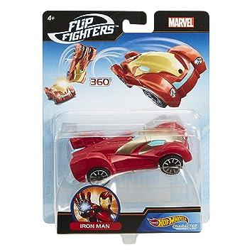 Mattel Hot Wheels Flm73 Hot Wheels Marvel Flip Fighters Car Surtido