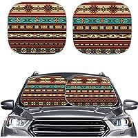 Babrukda UV Rays Sun Blocker Protector 2pcs Car Foldable Windshield Sun Shades Universal Fit Most Auto Sedan Truck SUV…