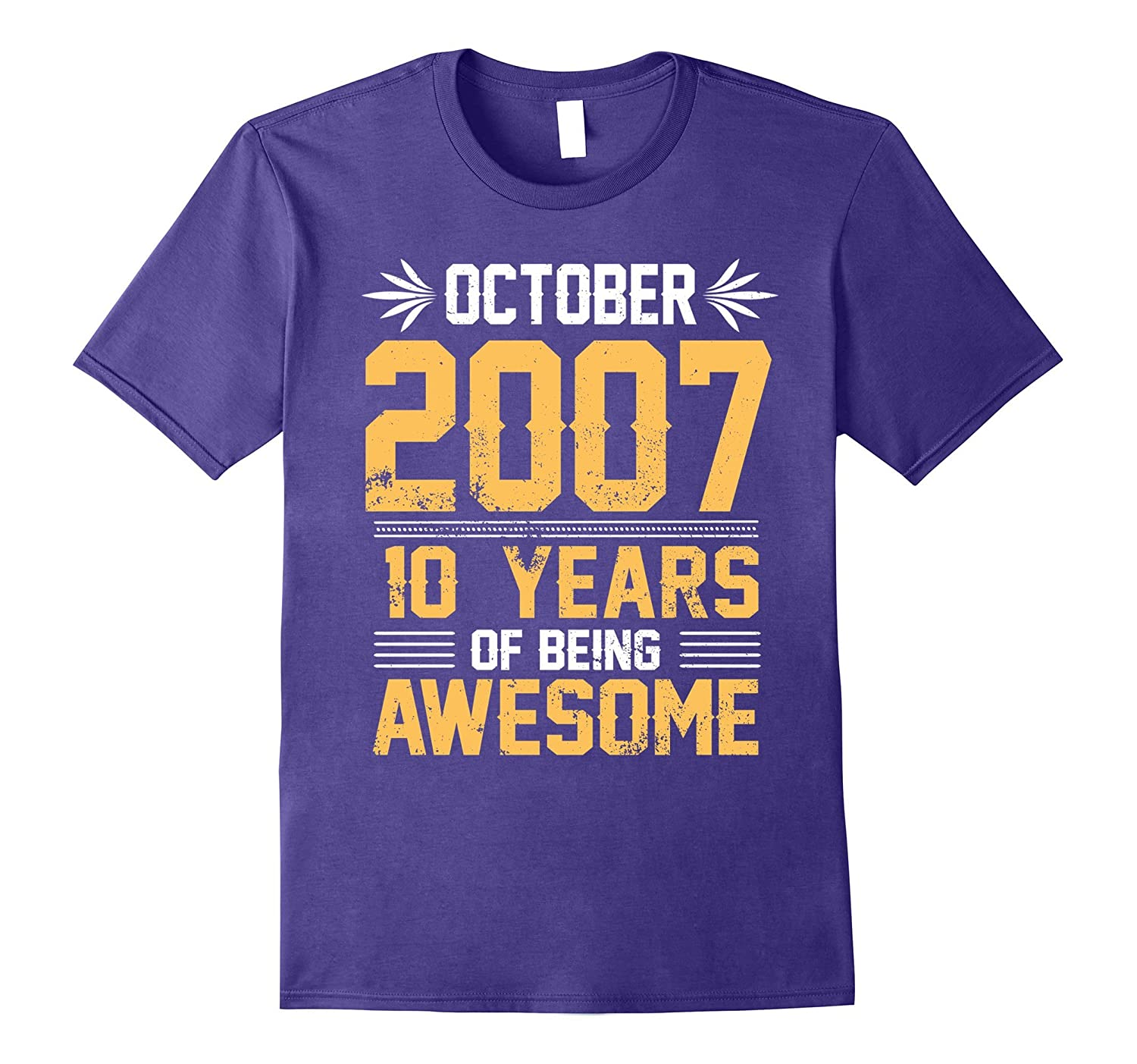 Legends Born In October 2007 10 Years Old Of Being Awesome-TJ