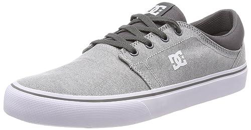 DC Shoes Trase TX SE, Zapatillas para Hombre, Grau (Grey/White Gwh), 46 EU