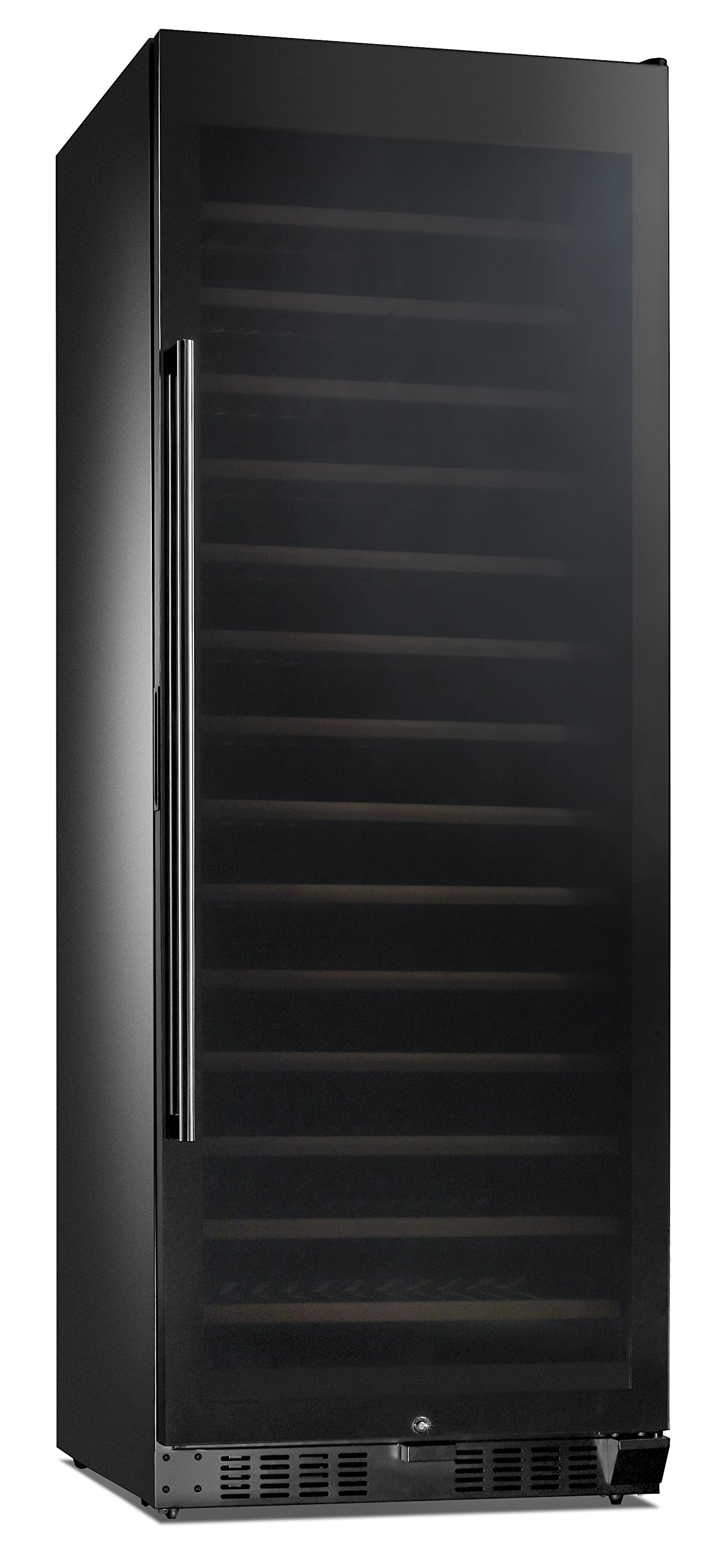 Smith & Hanks 183 Bottle Single Zone Wine Refrigerator, Stainless Steel Door, Built-In or Free Standing, Professional Series