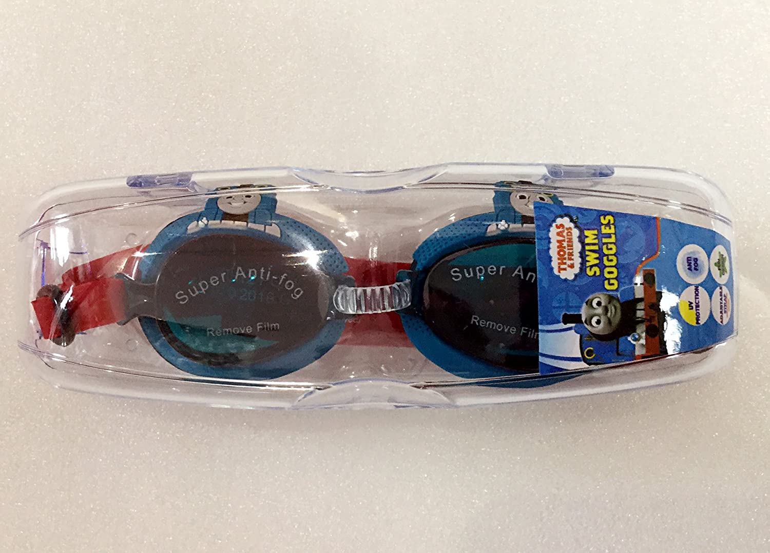 36cab7126cb3 Amazon.com   Thomas and friends swim goggles w case   Sports   Outdoors