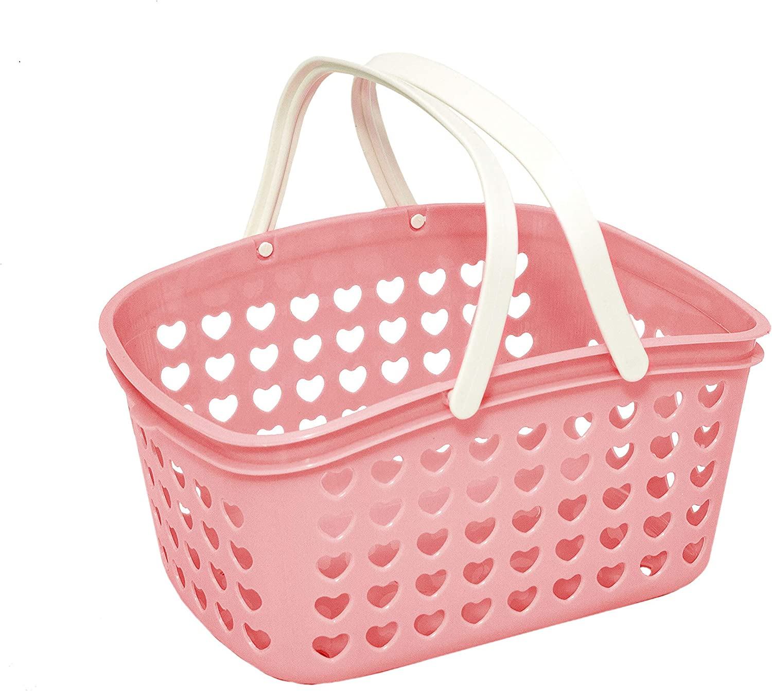 Small Stacking Basket Choice of Pink Blue or Green New