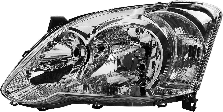 Scheinwerfer links f/ür Corolla E12//E13 06//04-07 Facelift 3//5-T/ürig H7+H7