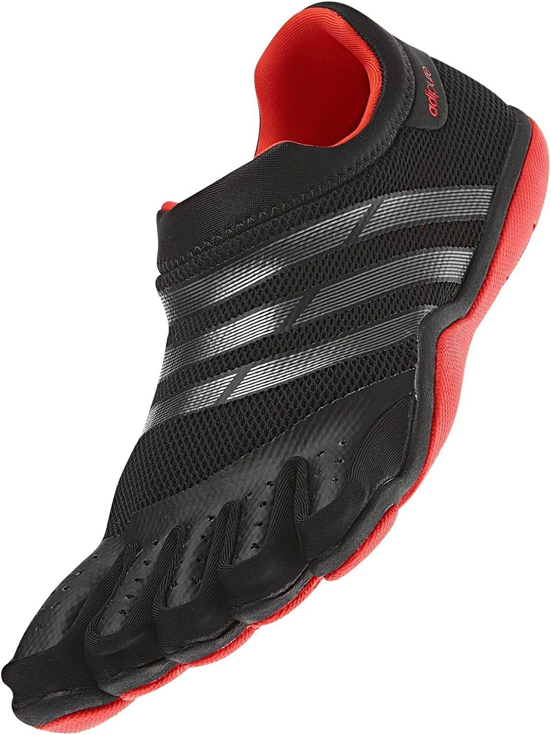 Estrecho de Bering servilleta Enfadarse  Amazon.com | Adidas Adipure Trainer Ortholite Black Water Grip Barefoot  Skeleton Toe Men's Shoes Size 11.5 | Running