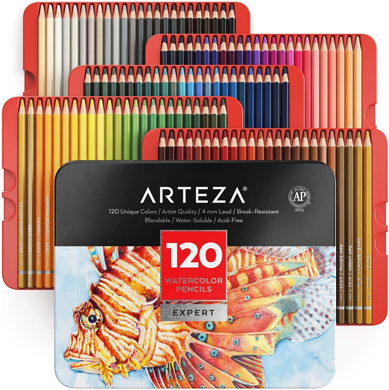 Arteza Professional Watercolor Pencils