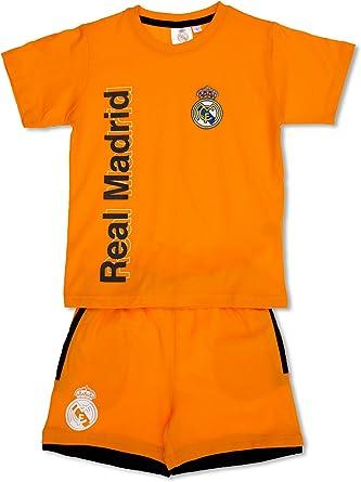 Licencias Pijama Real Madrid Naranja 2 años (92 cm): Amazon ...