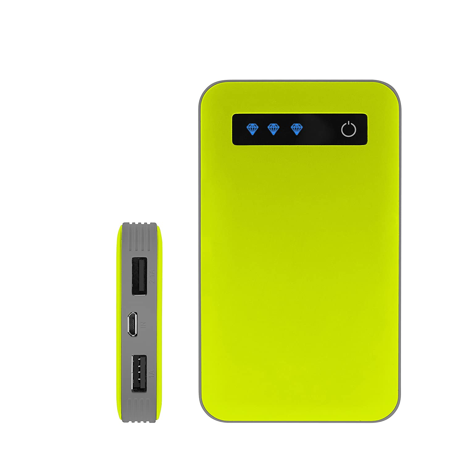 Amazon iJoy Portable Charger Ultra Slim mAh Power 10K Power Bank Green Cell Phones & Accessories