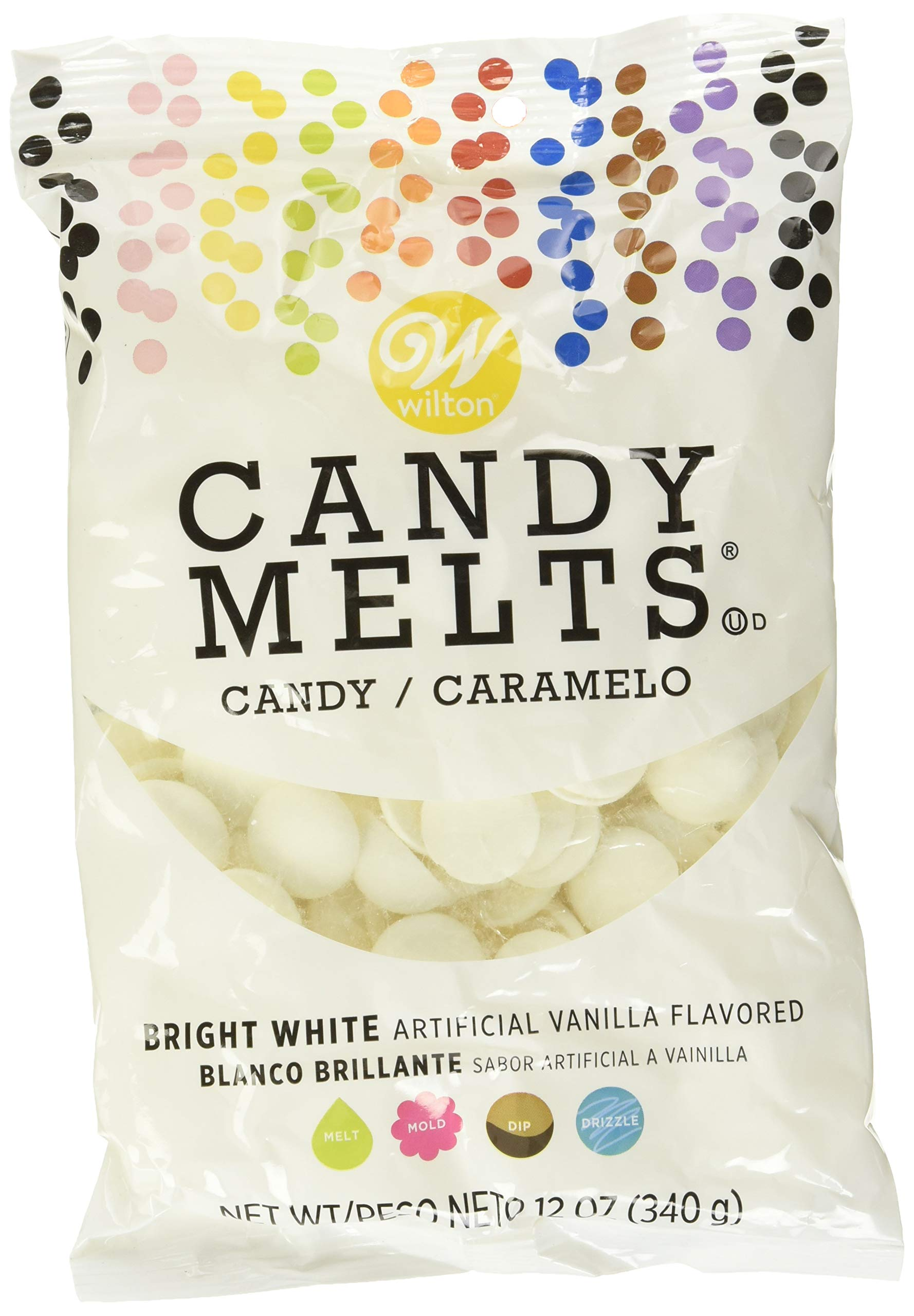 Wilton 1911-6065 Craft Supplies, Bright white                ROSANNA PANSINO by Wilton Nerdy Nummies Candy Melting Pot - Chocolate Melting Pot                Wilton Pink Candy Melts Candy, 12 oz.                Bundle of Wilton Candy Melts, Red and Green, 12-ounce Each, 1911-1357 (Pack o...