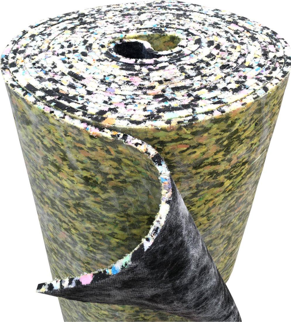 247Floors - Rollo de espuma aislante de poliuretano para moquetas, 8 mm de grosor: Amazon.es: Bricolaje y herramientas
