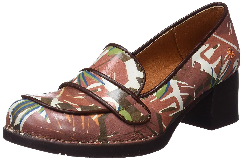Art 0079f Fantasy Bristol, Zapatos de Tacón con Punta Cerrada para Mujer 38 EU Varios Colores (Safari)