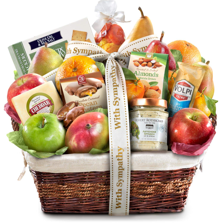 B00KVOWVAM Sympathy Gourmet Abundance Fruit Basket Gift 8113vlnh73L