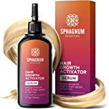 Hair Growth Serum - Follicle Activator Treats 5 Main Causes for Hair Loss. Cleanses and Nourishes Roots. Heals and Protects f